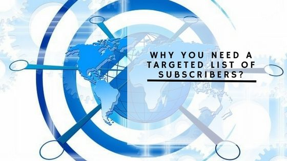 Targeted List of Subscribers